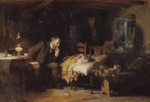 """Luke Fildes: """"The Doctor"""""""