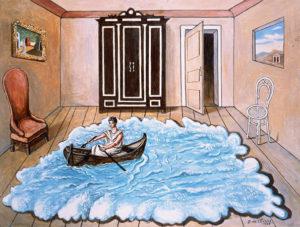 """Giorgio De Chirico: """"El retorno de Ulises"""" (1968)"""