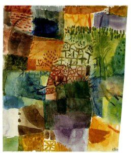 """Paul Klee: """"Recuerdo de un jardín"""""""